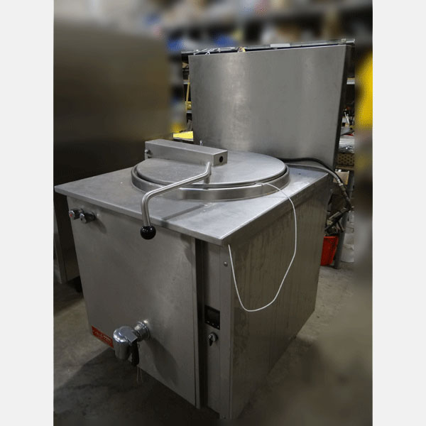 Cuiseur inox d'occasion 120 litres